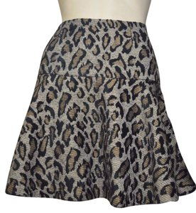 Free People Skirt Animal Print