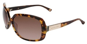 Michael Kors Michael Kors M2739S-206-61 Women's Avila Rectangle Tortoise Sunglasses