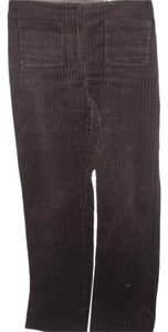 A|X Armani Exchange Corduroy Vintage Cotton Boot Cut Pants brown