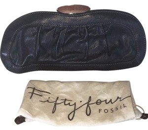 Fifty Four Fossil Black Clutch