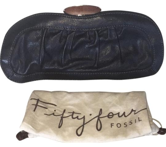 Fifty Four Fossil Black Clutch Image 0