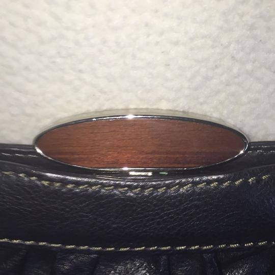 Fifty Four Fossil Black Clutch Image 1
