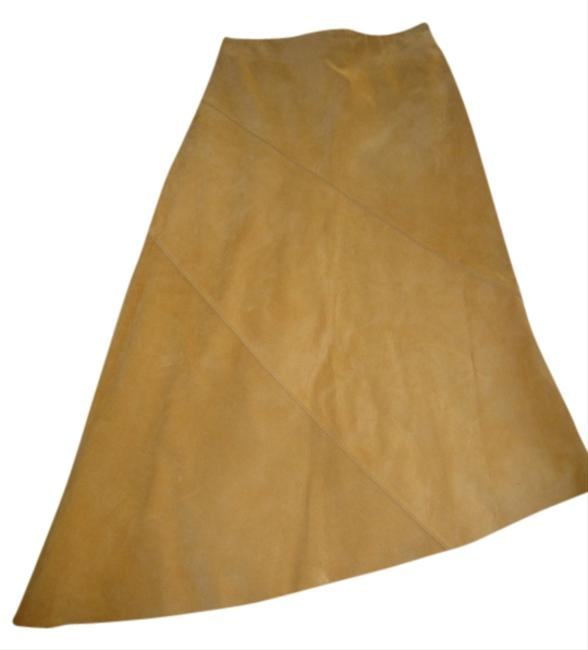 Banana Republic Skirt Mustard