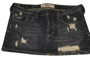 Hollister Mini Skirt Dark wash