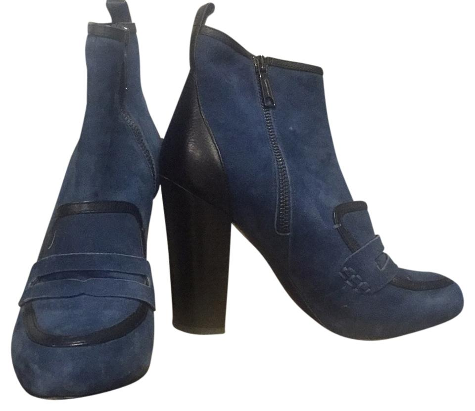 WOMENS Minkoff Rebecca Minkoff WOMENS Blue/Black Boots/Booties Aesthetic appearance f73a82