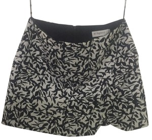 Bec & Bridge Mini Skirt Black and White