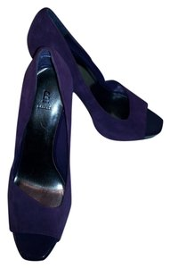 Bakers Comfortable Classy Suede Purple Formal