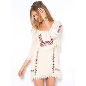 Free People Free People Twice As Nice Mini Dress