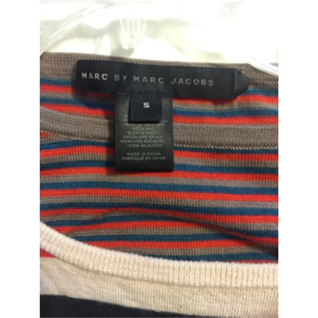 Marc by Marc Jacobs Multi Color Color-blocking Wool Sweater Image 3