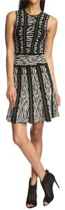 Torn by Ronny Kobo short dress Textured Jacquard Knit Stretchy Print on Tradesy