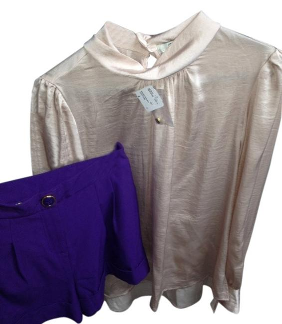 Preload https://img-static.tradesy.com/item/853074/forever-21-dusty-pink-and-purple-shorts-blouse-size-6-s-0-1-650-650.jpg