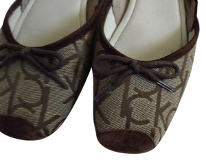 Calvin Klein Monogram New Closet Cute Things Stuff brown Flats