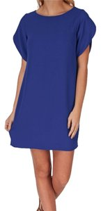 French Connection short dress Cobalt Blue Work on Tradesy