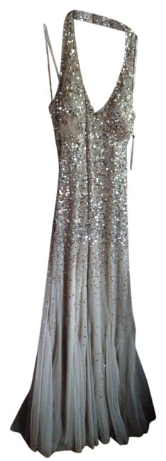 Night Way Collections Sequin Ombre Wedding Prom Reception Dress