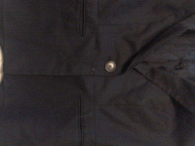 Ann Taylor LOFT Casual Cotton Dryclean Only black Jacket Image 1