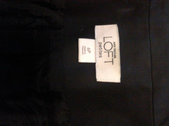 Ann Taylor LOFT Casual Cotton Dryclean Only black Jacket Image 3