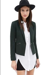 Forever 21 Brand New Zip Pocket Blazer