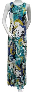 Multi-Color Maxi Dress by Joyous & Free Paisley Beaded Maxi