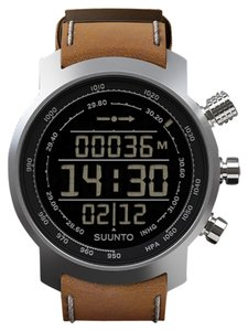 Suunto Suunto Elementum Terra Men's watch w/leather band and negative (black) display