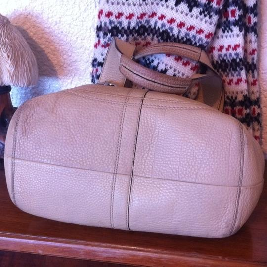 Coach Soho Pebbled L0751-f10911 Leather Satchel in Nude Image 2