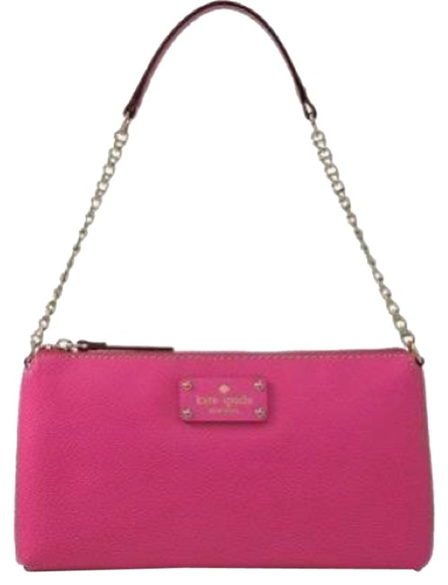 Kate Spade Shoulder Byrd Wellesley Small Pink Leather Cross Body Bag Kate Spade Shoulder Byrd Wellesley Small Pink Leather Cross Body Bag Image 1