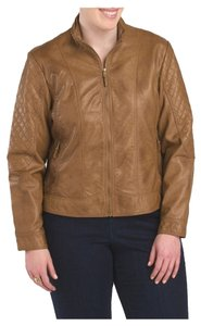 Jessica Simpson Plus Quilted Motorcycle Jacket