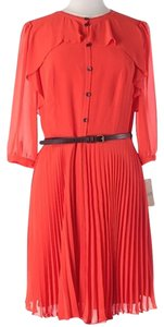 Daniel Cremieux Pleated Dress