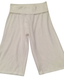 Juicy Couture Cotton Capris White