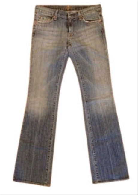 Preload https://item1.tradesy.com/images/7-for-all-mankind-boot-cut-jeans-washlook-8535-0-0.jpg?width=400&height=650