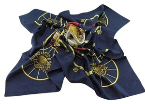 Hermes Pre Owned authentic Hermes Silk Scarf