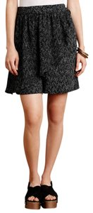 Anthropologie Skorts Skort Black And White