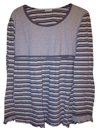 Preload https://img-static.tradesy.com/item/853524/united-colors-of-benetton-gray-and-white-large-pajama-top-0-0-540-540.jpg