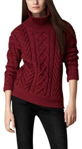 Burberry Brit Long Sleeve Cotton Burberry Sweater