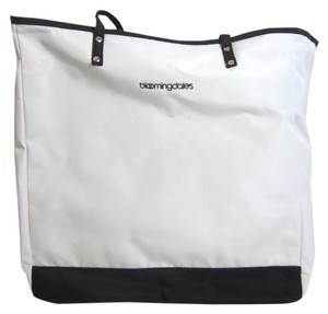 Bloomingdales Tote in Black,White