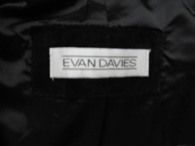 Evan Davies New Suede Chic Suede Blazer Collarless Coat Winter Trend Trendy Vintage Leather Jacket Image 3