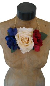 Other Tracey Vest Floral Necklace Neckpiece