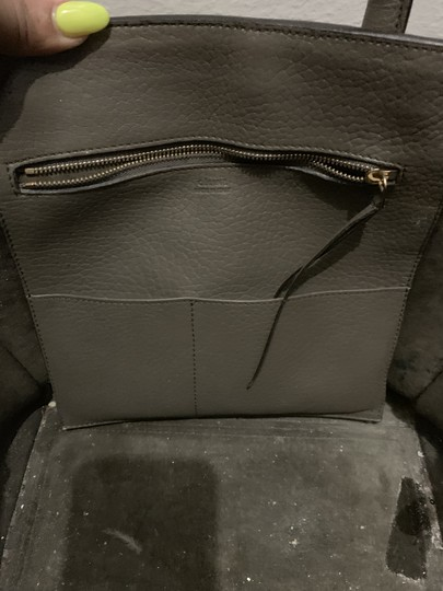 Céline Satchel in Army Green Image 6