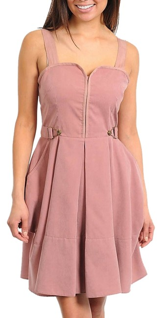 Item - Mauve Womens Sweetheart New Small Above Knee Cocktail Dress Size 4 (S)