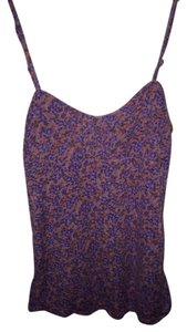 Free People Top Pink And Purple Floral