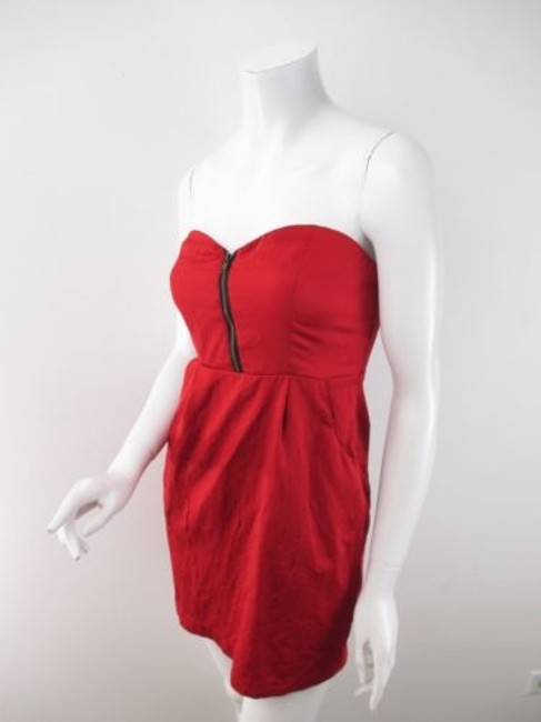 Preload https://img-static.tradesy.com/item/8539099/silence-noise-urban-outfitters-red-crinkle-cocktail-club-zipper-dress-0-0-650-650.jpg