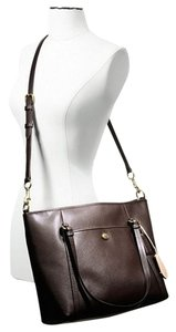 Coach Zip Top Tote Satchel Shoulder Bag