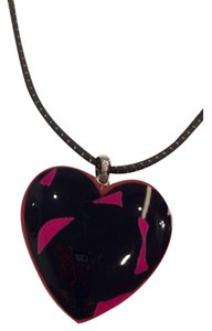 Michael Kors Michael Kors stylish Heart necklace on cord