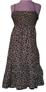 H&M short dress animal print on Tradesy