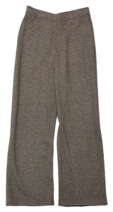 St. John Black Gold Knit Pants