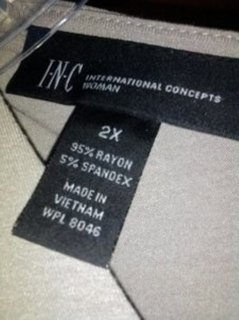 INC International Concepts short dress Cement on Tradesy
