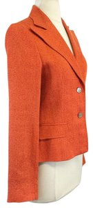 Dolce&Gabbana Orange Linen Blend Jacket