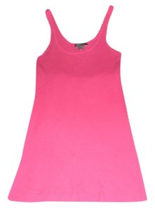Vince Ribbed Shirt Classic Top Pink