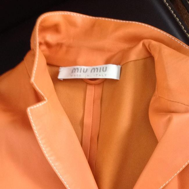 Miu Miu Peachy Orange Blazer