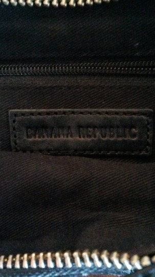 Banana Republic Sexy Leather Baguette