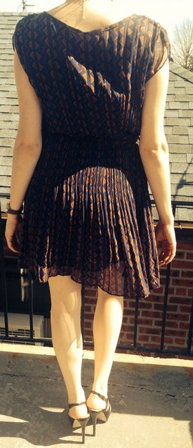 Blu Pepper short dress on Tradesy
